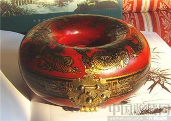 龙凤漆盒-收藏网