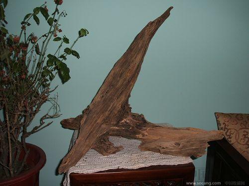 越南沉香木原木摆件,重2000g左右