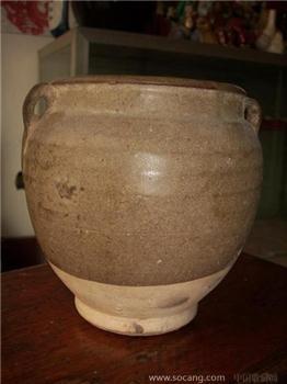 茶叶末釉罐-收藏网