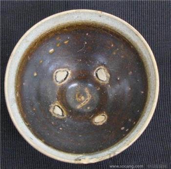 宋青口黑釉斗盏-中国收藏网