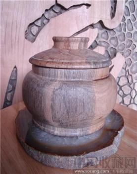 檀木茶杯-收藏网