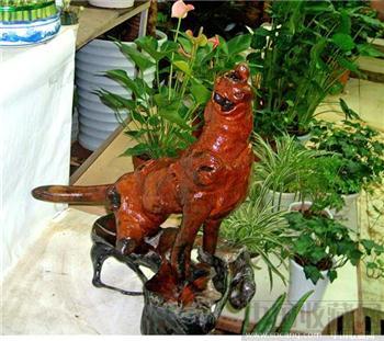 天然根雕 根艺  工艺品 摆设 海狮望月 出售-中国收藏网