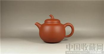 90年代厂壶—红泥茄段-收藏网