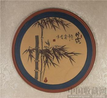 一厂陶刻艺术壁挂-收藏网