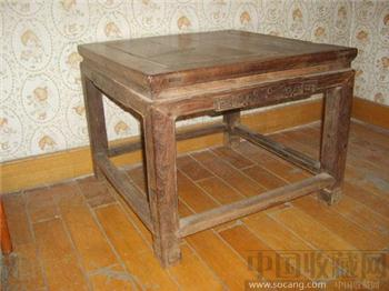 最低价清中期老红木禅凳方凳雕葫芦鸡翅木3千至1万北京古典家具-收藏网
