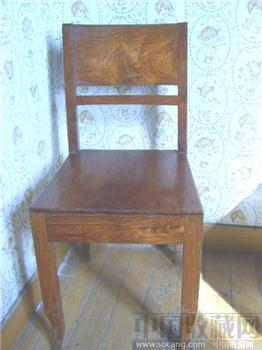 最低价海南黄花梨靠背椅9千/只座面靠背独板花纹极优美古典家具-收藏网