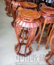 最低价花梨花几花架1000黄花梨木红酸枝茶几台明清古典家具 -收藏网