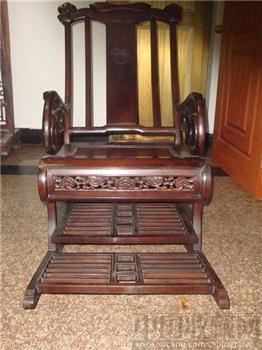 红木摇椅-收藏网