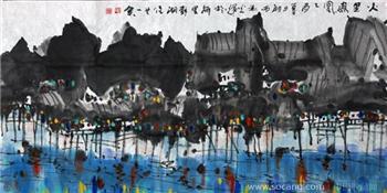 毛光辉的画-中国收藏网