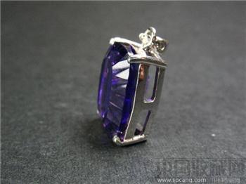 尚古斋:天然紫水晶 挂坠-收藏网