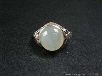 尚古斋:白玉面 指环-收藏网