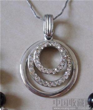银色光环项链-收藏网