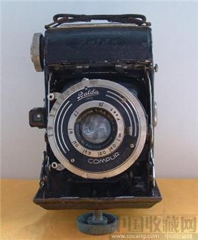 """很久年代的德国""""巴尔达""""牌老爷相机-收藏网"""