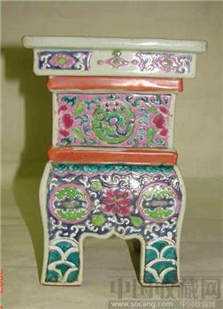 粉彩香炉-中国收藏网