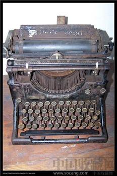 美国安德伍德打字机 -收藏网