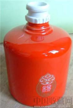 中国红杨字牌酒瓶-收藏网