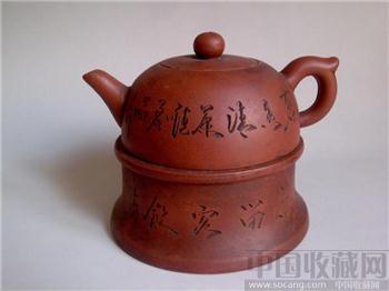 民国周虎荣紫砂壶-收藏网