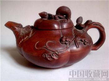 陈鸣远紫砂壶-收藏网