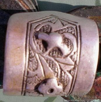 明代银冥币,银帽花,银铃铛 ,银戒指等自选-收藏网