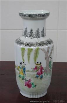 民国 婴戏图-中国收藏网
