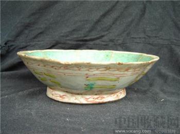 清--粉彩碗7108-收藏网