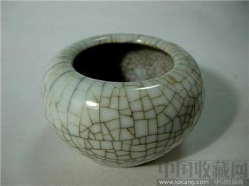 雍正年---哥釉水丞-收藏网