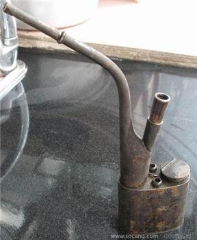 老铜水烟袋-中国收藏网