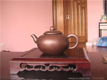 清晚民国初姚珍红乳壶一粒珠紫砂壶-收藏网
