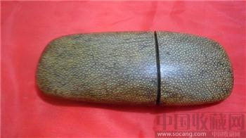 清代鲨鱼眼睛盒-收藏网