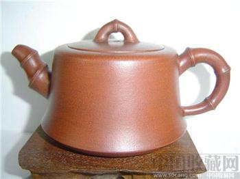 鲍志强(款)竹节壶-收藏网