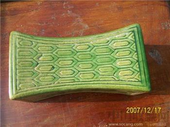 银锭形瓷枕-收藏网