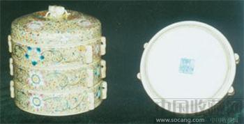 清代瓷器多宝盒-收藏网