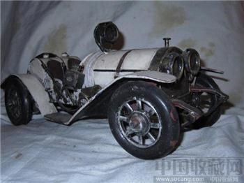 100年的蒸气车模型-收藏网