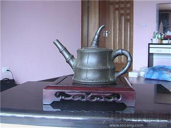 清晚民国初 彝族紫砂土司壶至尊宝-收藏网