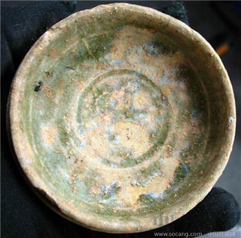 南北朝时期的越窑青瓷豆-收藏网
