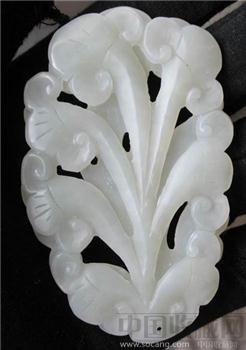 和田白玉花雕件-中国收藏网