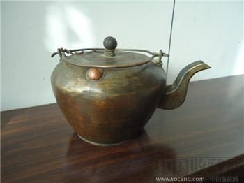 提梁铜壶-收藏网