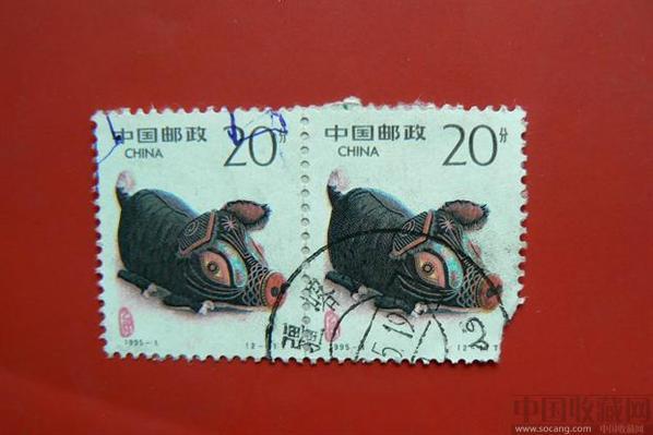 猪年4方连邮票