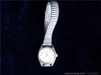 老上海二厂17钻女式机械手表走时准确-收藏网