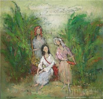三位少女-收藏网