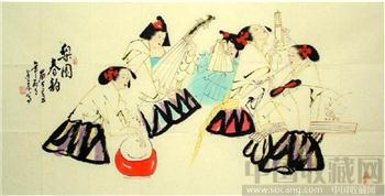 李逢辰·四尺国画人物38-中国收藏网