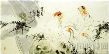 李逢辰·四尺国画人物18-收藏网