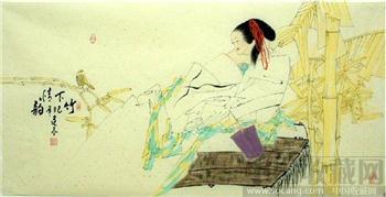李逢辰·四尺国画人物34-收藏网