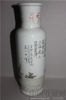 浅匠彩棒锤瓶-收藏网