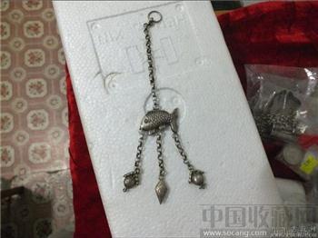 银饰(鱼)-收藏网