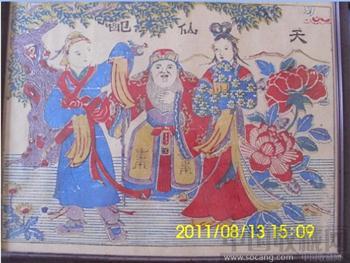 杨家埠木版年画-收藏网