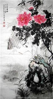 孙蒋峰·三尺花鸟作品-收藏网