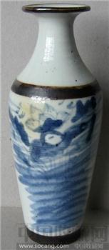 老瓷器古瓷器 青花药瓶【大开门典型器!古瓷入门首选】-收藏网