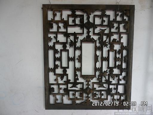 清代雕花木窗-雅维阁-中国收藏网