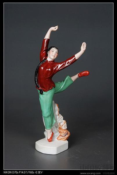 5-1厘米误差作者简介:林鸿禧,陶瓷雕塑家.广东揭阳人,男,(1928-2009).